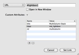 Stack LightBox by Maik Barz